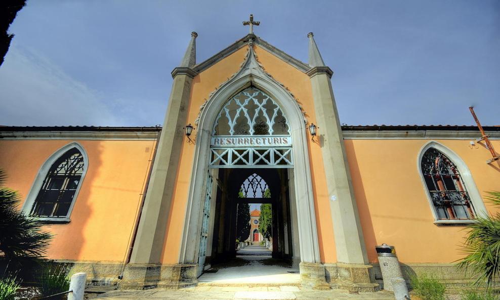 Glavni vhod v pokopališče Piran
